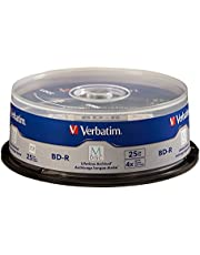 Verbatim 98809 M-DISC BD-R 25GB / 1-4x, Cakebox para 25 discos