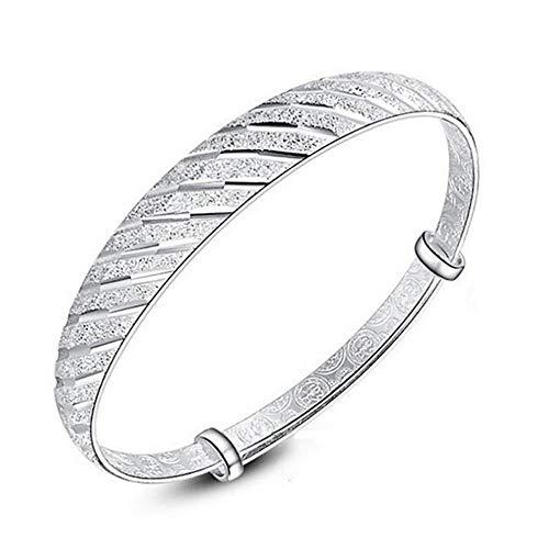 Yarmy 925 Sterling Silber Armreifen Für Frauen Mode Charme Armbänder Femme Reine Silber Edlen Schmuck