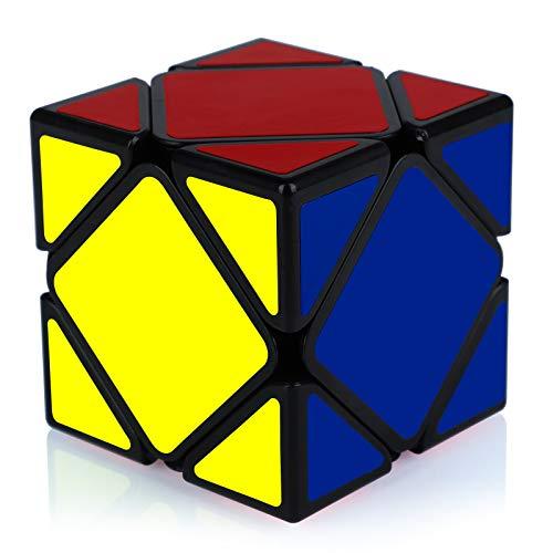 Maomaoyu Skewb Cube Puzzle Magico Cubo de la Velocidad Rompecabezas Negro