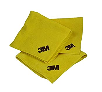 3M 06017 Microfiber Cloth  3 Pack