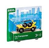 BRIO Bahn 33577 - Autotransporter mit Rampe