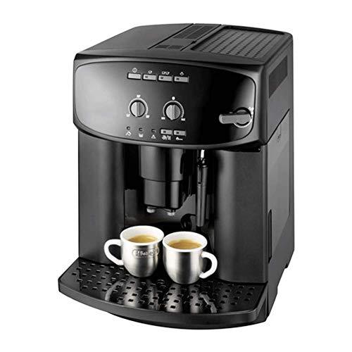 8bayfa Kaffeevollautomat, Handels- und Gewerbe Italienischer Dampf Milch Cappuccino, frisch gemahlener Kaffee, Milchschaum Kaffeemaschine, Timer-Kaffee-Maschine, Schwarz