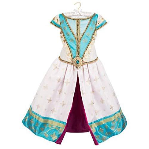 YyiHan Cosplay Disfraz, Aladdin lámpara mágica Mujeres Cosplay Cosplay de la Princesa Jasmine Etapa de Maquillaje de Halloween espectáculo de Disfraces Fiesta de Disfraces
