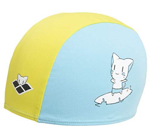 Arena Friends Kids Polyester cap, Swim Caps Unisex Bambino, Blue, TU