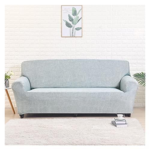 SYOUCC Cubre Sofa Cubierta de sofá Elástico para la Sala de Estar Spandex Corner Sofá Slegover para el sofá con Forma de l Funda Sofá Sofá Salón 1/2/3/4 Asiento