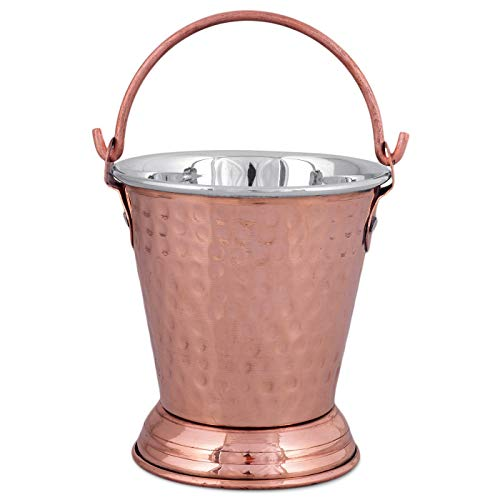 Copper Bucket Balti for Serving Dishes Kitchenware and...