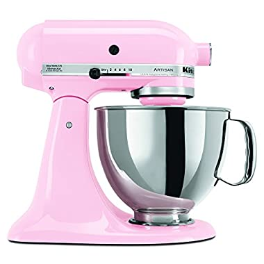 KitchenAid RRK150PK  5 Qt. Artisan Series - Pink (Renewed)