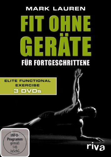 Mark Lauren - Fit ohne Geräte für Fortgeschrittene. 3 DVDs