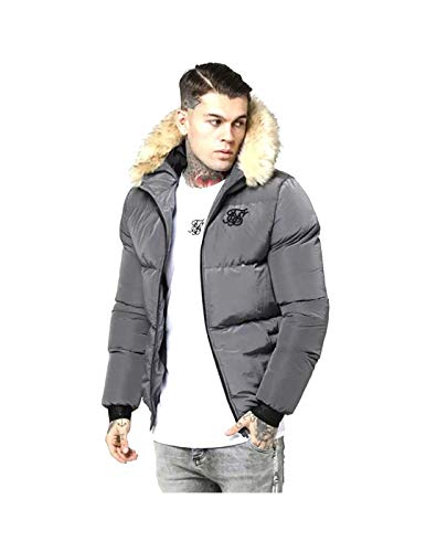 Sik Silk Cazadora Distance Jacket Gris Hombre XL Gris