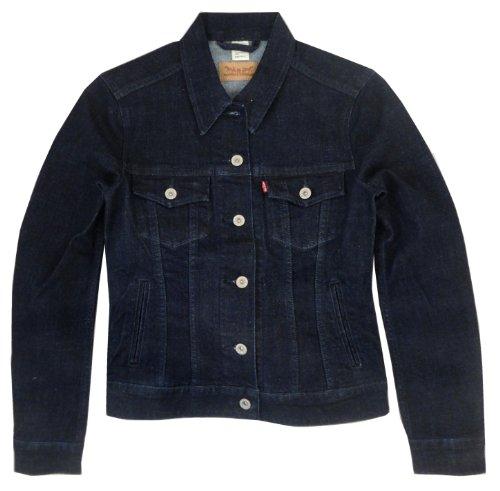 Levis Damen Classic Trucker Jacket, Forever Dark, XL