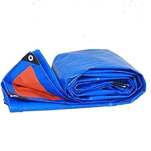 WAJJ dekzeil regendicht doek waterdichte vrachtwagen driewieler auto dikker kleur strip doek dekzeil