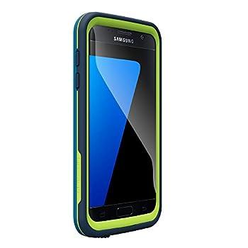 LifeProof FRĒ SERIES Waterproof Case for Samsung Galaxy S7 - Retail Packaging - BANZAI  COWABUNGA WAVE CRASH/LIME