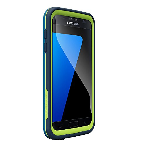 LifeProof FRĒ SERIES Waterproof Case for Samsung Galaxy S7 - Retail Packaging - BANZAI (COWABUNGA WAVE CRASH/LIME)