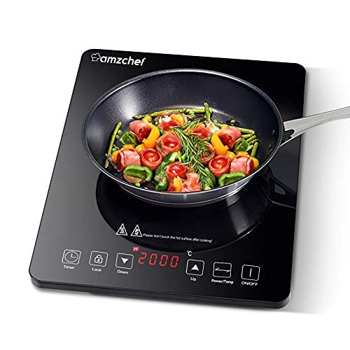 Plaque Induction Portable AMZCHEF, plaque de cuisson à...