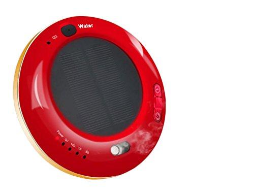 HL Air Voiture Purificateur D'Air De Voiture Automobile Solaire Purificateur Humidificateur D'Anions , Red , 135*30Mm,red,135*30mm