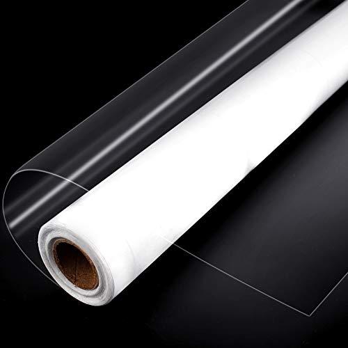 Transparent Selbstklebende Folie 40x800CM Wandschutzfolie Klebefolien Wasserdicht Ölbeständig Spritzschutz Folie Zum Schutz für Küche Wand Möbel