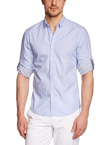 Scotch & Soda 15010220014 Chemise Casual, Multicolore (Dessin A), XX-Large (Taille Fabricant: XXL) Homme