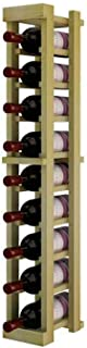 Winemaker Series Wine Rack - 1 Column - 3 Ft - Pine Unstained