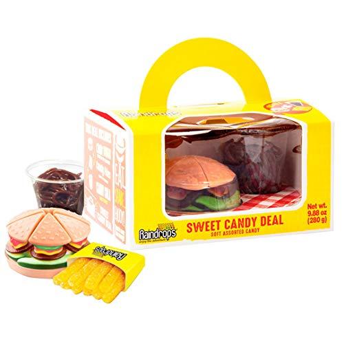 CHUPA CHUPS sweet candy meal caja hamburguesa con patatas y cola de gominola