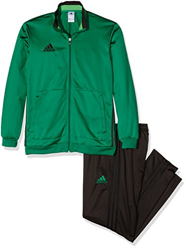 adidas Erwachsene Trainingsanzug Condivo 16 Polyesteranzug, bold green/Night brown/Semi solar lime, XL