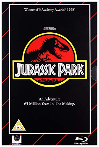 Jurassic Park Limited Edition Blu Ray / VHS Packaging Edition / Import / Includes DVD+Region Free Blu Ray
