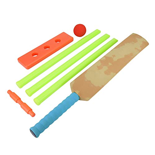 Antilog Toy Cricket, Indoor Outdoor Kunststoff Cricket Set Abnehmbare Stümpfe Kinder Spielzeug Spiel Zubehör