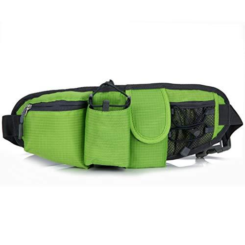 Giow Paquete de cintura Bolso de cintura Multifuncional Bolsa de caldera para exterior Impermeable Transpirable Hombres 's Mujeres' Deportes Móvil Montañismo Viaje en marcha (Tamaño: 40 * 15cm
