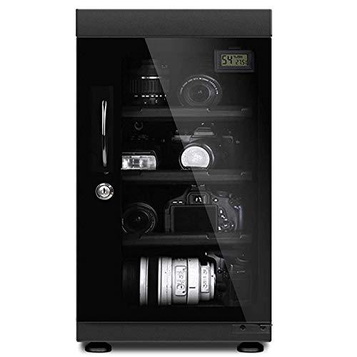 防湿庫 ドライボックス 50L大容量 カメラ収納ケース 省エネ カビ対策 自動除湿 超静音 四層 デジタル湿度表示 メーカー3年保証 日本語説明書