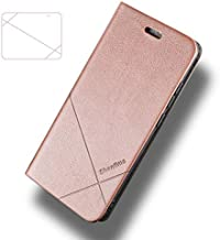 Flip Cases - For Oukitel C17 Pro C17 Leather Case For Oukitel K12 Cover For Oukitel K9 Case For Oukitel K13 Pro Phone Case Oukitel C15 Pro (Rose gold Oukitel K10000 Pro)