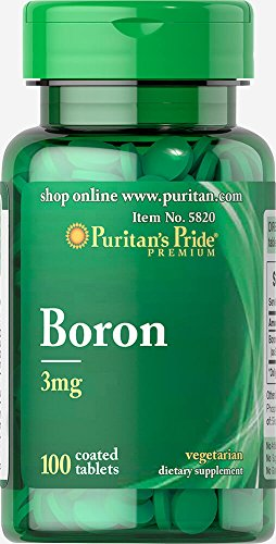 Puritan's Pride -   Boron 3mg (100