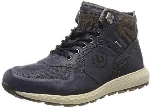 bugatti 321589303232, Sneaker a Collo Alto Uomo, Blu, 40 EU