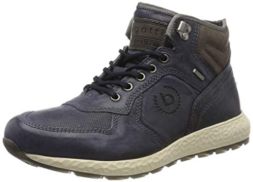 bugatti Herren 321589303232 Hohe Sneaker, Blau, 47 EU