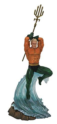 DIAMOND SELECT TOYS Dc Gallery: Aquaman PVC Figure Statue, Multi-Color,  (JUN182319)