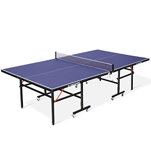MaxKare Ping Pong Table Table Tennis Table Foldable Standard Size 9'x5' MDF...