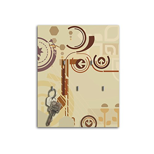 Dalinda Porte-clés Mural avec Design Kathleen Clé Board Crochets Porte-clés sB149