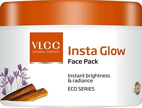 VLCC Glow Insta Face Pack für Sofort Helligkeit & Éclat ECO Série 200 g