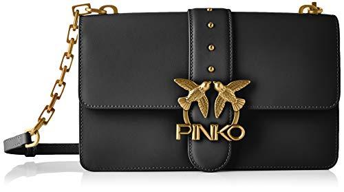 Pinko, LOVE CLASSIC ICON SIMPLY 7 CL Donna, Z99_NERO LIMOUSINE, U