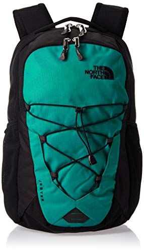 The North Face Jester Fanfregn/Tnfblk Daypack, Unisex Adulto, Fanfare Green/TNF Black, OS