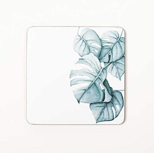 Plant Limited price Printing Wood Coaster Cup Pad Coffee Heated Ranking TOP6 Non-Slip Mat T