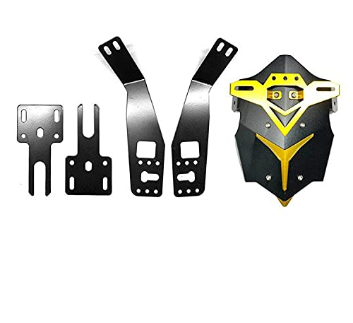 Motorcycle fender Motorcycle Rear Wheel Mudguard Protector Cover With Bracket For Grom MSX125 Motorbike (Color : E)