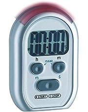 TFA Dostmann Shake Awake digitale timer en stopwatch, 38.2019, met alarmgeluid/lichtsignaal/trilalarm
