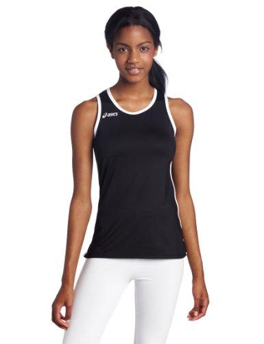 ASICS Damen Field Jersey, Damen, schwarz/weiß, XX-Large