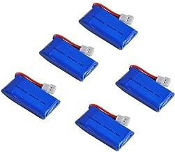 NC 5X 3.7V 5X 3.7V 380mAh Lipo Battery for for Hubsan X4 H107 H107L H107C H107D V252 JXD 385 RC Quadcopter