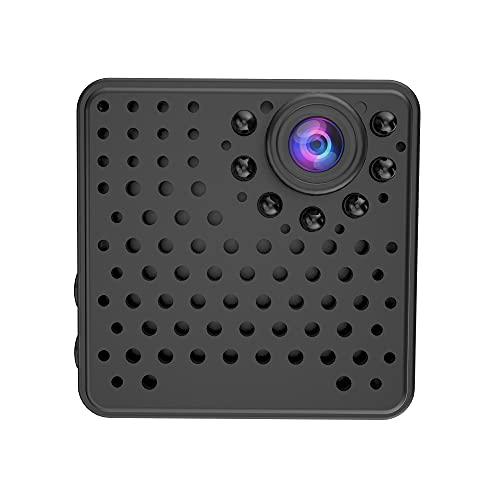 CHENPENG Mini cámara espía, cámara Oculta inalámbrica WiFi, con aplicación para teléfono Celular, con detección de Movimiento, visión Nocturna, cámara de Seguridad para el hogar pequeña 1080P HD