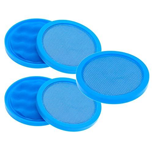 Beada 5 unids filtro de algodón para Puppyoo D-9002 D9002 Partes de aspirador Accesorios Azul Más Durable Filtro Core