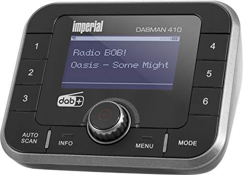Imperial Dabman 410 DAB+ Radio Adapter zum Anschluss an die Stereoanlage (DAB+, UKW, Bluetooth,Akku) schwarz