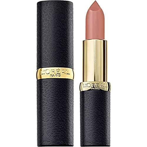 L'Oréal Paris Color Riche Matte in Nr. 633 Moka Chic, Lippenstift für ein intensives Matt-Finish, mit pflegendem Jojobaöl