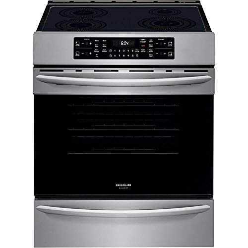 Frigidaire FGIH3047VF Gallery Series 30 Inch Stainless Steel Induction Electric...