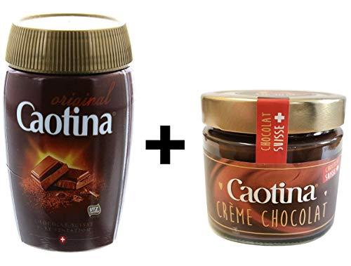 Caotina Creme Chocolat Brotaufstrich 300g + Caotina Original 200g Pulver Dose