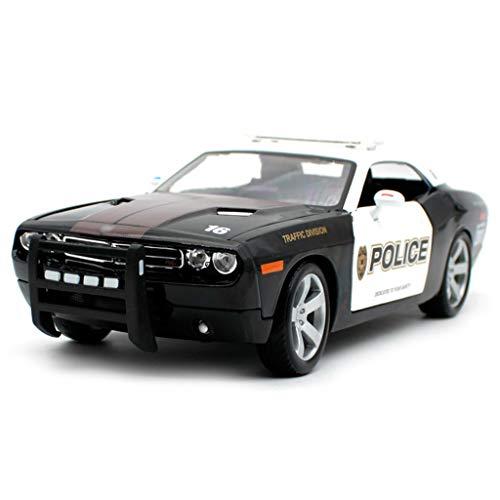 Escala modelo de automóvil 1:18 Die-Cast CAR / Compatible con Dodge Challenger 2006 / Aleación El modelo de automóvil Se puede abrir la cubierta frontal se puede abrir la cubierta trasera se puede abr